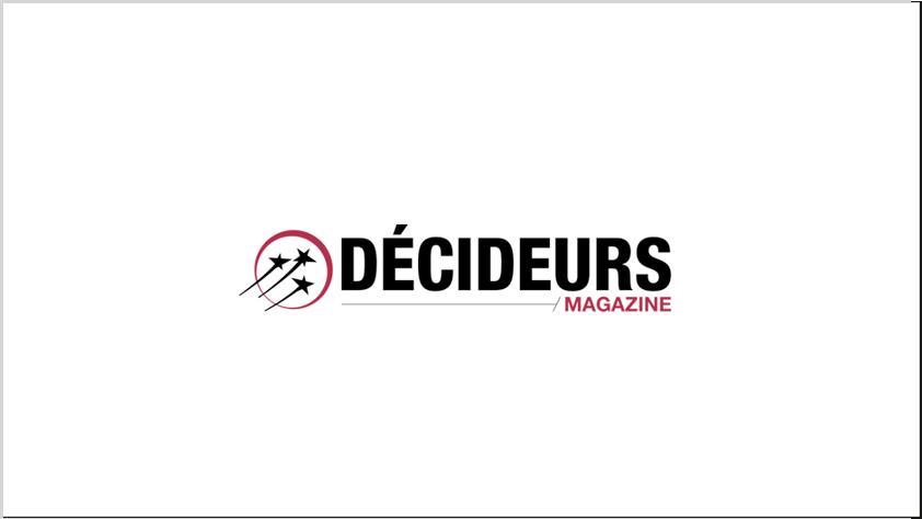 bourayne au classement du magazine decideurs ranking